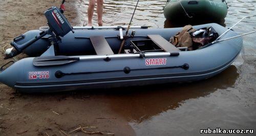 видео сборки лодки смарт