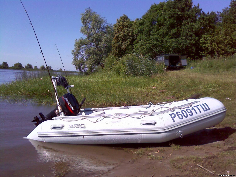 Надувные лодки и подвесные двигатели BRIG